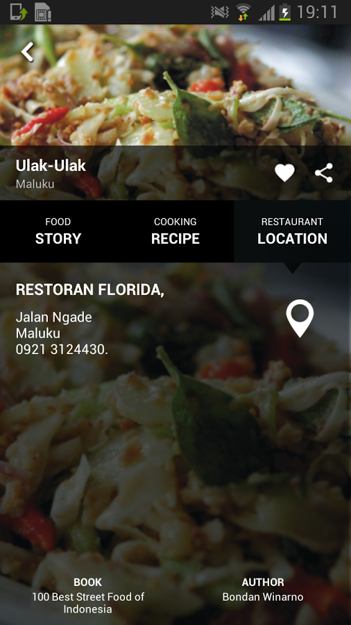 Kompas Recipes Location