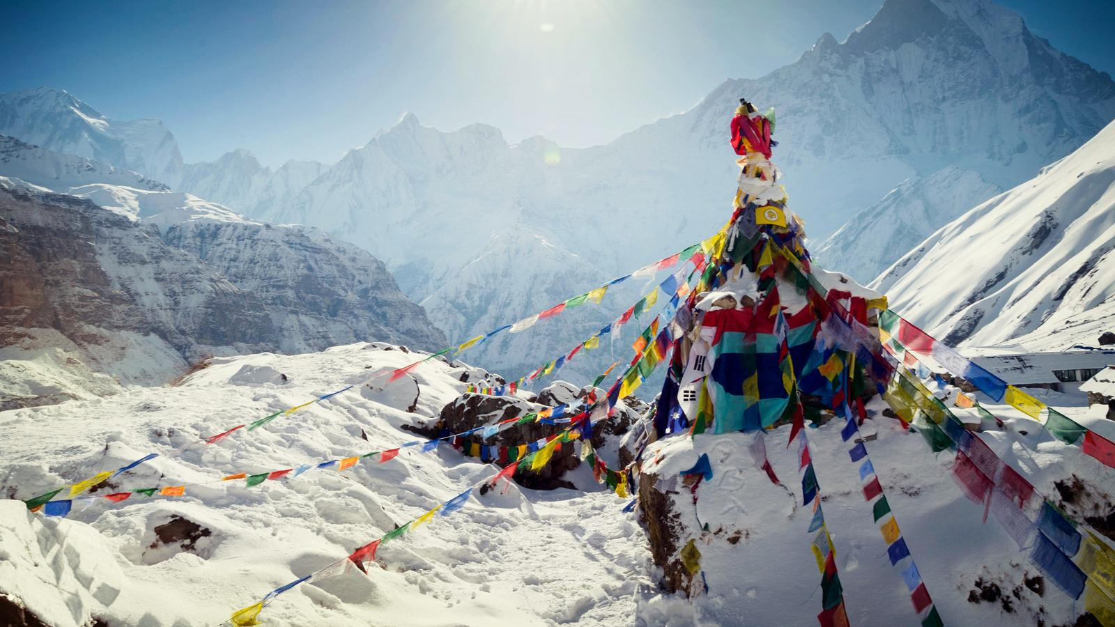 Let's aim very high, Everest Base Camp!